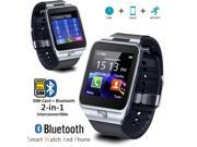 Indigi® SmartWatch & Phone [GSM Unlocked + Bluetooth 4.0 + Camera + SMS/Call Reminder] + 32gb Bundle