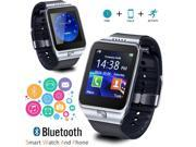 Indigi® 2-in-1 SmartWatch & GSM Unlocked Phone [Pedometer + Alarms + SMS/Call Reminder] + 32gb SD