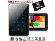 inDigi® Unlocked! 7 inch Tablet Smart Phone Android 4.2 Bluetooth WiFi Google Play Store