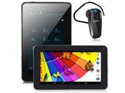 inDigi® Phablet 7in Android 4.2 Tablet Phone Google Play Store FREE Bluetooth Headset!