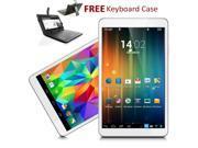 Indigi® 7.0 Android 4.2 JB Tablet PC Stylish Premium Leather Back Keyboard Case BONUS