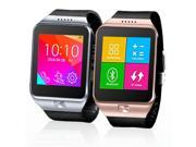 Indigi® Innovative SWAP Gear Bluetooth Smartwatch Wireless Phone For All iPhone and Galaxy SmartPhones (Silver)