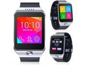 Indigi® Stylish Bluetooth Sync Smart Watch w/ Optional micro Sim Card Slot -Unlocked- (Silver) 9SIA45W2CF0478