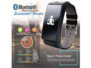 Indigi® Fitness Bluetooth Bracelet SmartWatch Heart Rate Monitor for iOS Android