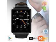 Indigi® NEW 2017 3G Android 5.1 Smart Watch Phone (GSM Factory Unlocked) Maps + WiFi + GPS + Google Play Store