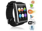 Indigi® 1.54-inch AMOLED Android SmartWatch (Bluetooth 4.2 Sync + QuadCore + WiFi + GSM Unlocked + GPS)