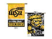 "Wichita State Shockers Flag 28"""" x 40"""" Double Sided Banner"" 9SIADHM6YV8505"