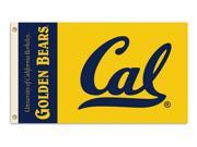 BSI Products 95156 Cal Berkeley Golden Bears- 3 ft. X 5 ft. Flag W-Grommets 9SIA00Y0978384