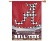 "Alabama Crimson Tide Official NCAA 27""""x37"""" Banner Flag by Wincraft"" 9SIA12Y0TX6667"