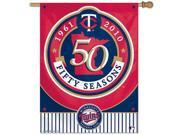 Minnesota Twins Vertical Outdoor House Flag 9SIA4671BY4306