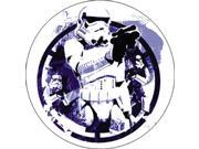 Star Wars Storm Trooper Button is Round Measuring Approximately 1.5 Inches - 4 cm