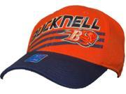 Bucknell Bison Men's Adidas Flexfit Orange Navy Cap Hat (S/M)