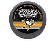 Pittsburgh Penguins NHL 2016 Eastern Conference Champs Stanley Cup Hockey Puck 9SIA46M4BX7929