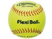 Diamond Neon Yellow 11 DFX 11RFPSC Felxiball Soft Touch Training Softball