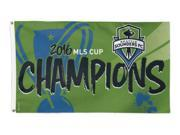 Seattle Sounders FC 2016 MLS Cup Champions Indoor Outdoor Deluxe Flag (3'x5') 9SIA46M56F0880