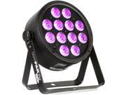 Chauvet SLIMPART12USB Tri-color LED PAR-style Lighting Fixture with Automated Programs, DMX Control, IRC Wireless Remote Compatibility, and D-Fi USB