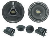 Lanzar DCT6KT 6.5'' 200 Watt 2-Way Coaxial Speaker
