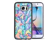 Samsung Galaxy S7 edge Case Anti-Scratch & Protective Cover,Tie Dye Cactus Case-Onelee
