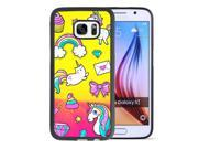 Samsung Galaxy S7 Case Anti-Scratch & Protective Cover,unicorn starry sky Case-Onelee