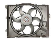 OEM# 17427523259 , 17117590699 New OEM Replacement Fan for BMW 330xi 2006 with Manual Transmission (400 Watts Brushless Motor)