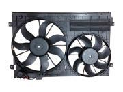 YourRadiator YR020F - New OEM Replacement Cooling Fan Assembly