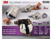 3M 16580 Accuspray Spray Gun Kit with PPS Cup