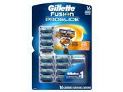 Gillette Fusion ProGlide Manual Cartridges - 16 ct.