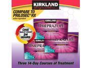 Kirkland Signature Omeprazole 20 mg 42 Tablets