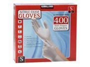 Kirkland Signature Nitrile Exam Gloves 400ct Size Small