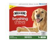 Milk-Bone Brushing Chews Daily Dental Treats, Large 30 ct.