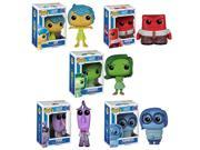 Funko Inside Out Pop Disney Pixar Vinyl Collectors Set with Sadness Joy Disgust Anger Fear 9SIV16A66W5475