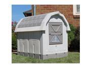 "ASL Solutions Deluxe Insulated Dog Palace with Floor Heater, Grey 38.5"" x 31.5"" x 47.5"""