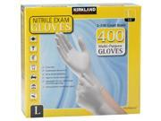 Kirkland Signature Nitrile Exam Gloves 400ct Size Large