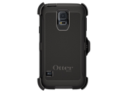 Otterbox Defender Series Samsung Galaxy S5 Case - Retail Packaging Protective Case for Galaxy S5 - Black