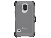Otterbox Defender Series case cover for Samsung S5 SV 9600 - Grey/White