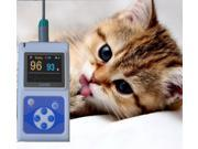CONTEC 2014 New CMS60D Veterinary Hand held Pulse Oximeter With Vet Probe Free PC software
