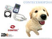 CONTEC CMS60D Veterinary Hand-Held pulse Oximeter,Vet Use Probe +Free Software