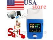 CONTEC CMS50C Fingertip Pulse Oximeter,SPO2 Monitor,Blood Oxygen Monitor+Case, USA warehouse delivery