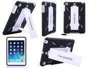 Heavy Duty Hybrid TPU Silicone Dual Layer With Stand Hard Cover Case For Apple iPad Mini 2 with Retina display Screen Protector Stylus Pen Cleaning Cloth