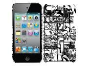 MacBeth DYSE ONE Hard Case Cover for iPod Touch 4G 4 4th Gen Comic Graffiti