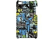 MacBeth DYSE ONE Case Cover for iPod Touch 4G 4 4th Gen Comic Color Graffiti