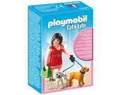 PLAYMOBIL City Life - Woman with puppies - 5490