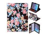 Apexel Calico Pattern Good Quality New Leather Protective Case with Card Slot for iPad Mini 2/ iPad Mini 3 with Retina Display (2nd Generation) Black