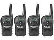 Midland LXT118VP Audible Button Beeps Two Way Radio / Walkie Talkie 4 Pack New