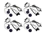 Midland AVPH2 Radios Headset Speaker Microphone For Motorcycle Helmet 4 Pack New