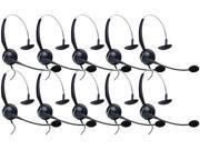 Jabra GN 2120 Mono NC Corded Headset w/ ATL Tech & Flexible Boom (10 Pack)