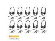 Plantronics Blackwire C325-M (10-pack) Stereo Corded Headset