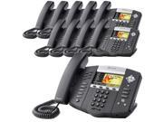 Polycom 2200-12670-001 (10 Pack) SoundPoint IP 670 6-Line IP Phone w/ AC