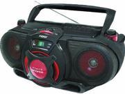 Naxa NAXNPB259B Portable CD/MP3 & Cassette Player & AM/FM Radio with Subwoofer