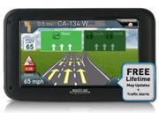 Magellan RoadMate 5270T-LMB - RM 5265T-LMB with Case 5 Inch Automotive GPS